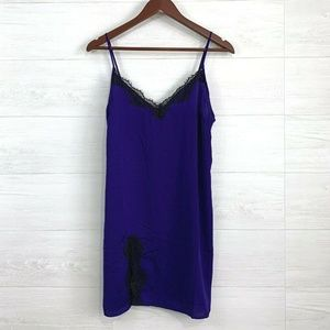 Out From Under UO Satin Feel Slip Dress